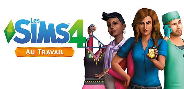 Les Sims 4 Au Travail - Cover / Packshot