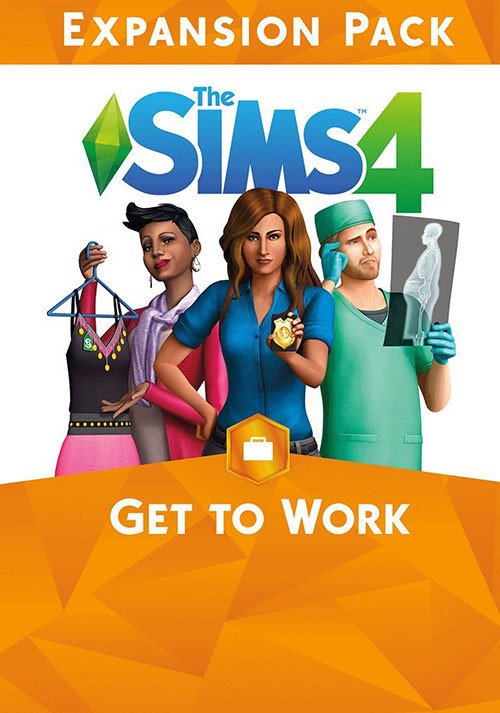 The Sims™ 4 Get To Work - Cover / Packshot