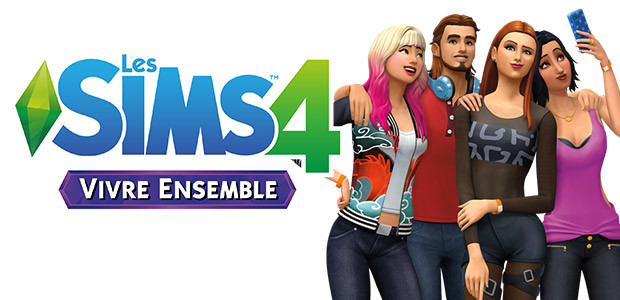 Les Sims™ 4 Vivre Ensemble - Cover / Packshot