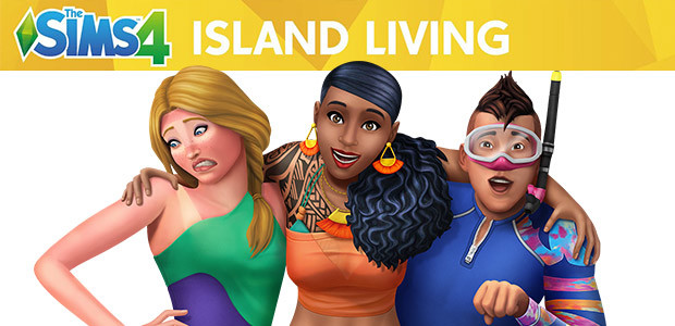 The Sims™ 4 Island Living - Cover / Packshot
