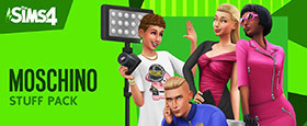 Les Sims™ 4: Moschino Stuff Pack