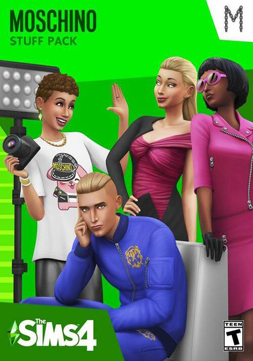 The Sims™ 4: Moschino Stuff Pack - Cover / Packshot