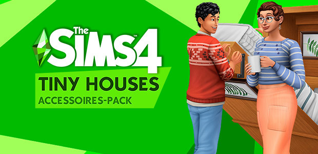 Die Sims™ 4 Tiny Houses-Accessoires-Pack - Cover / Packshot