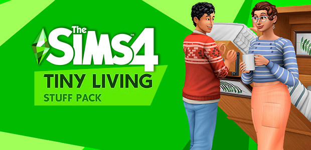 The Sims™ 4 Tiny Living Stuff Pack - Cover / Packshot