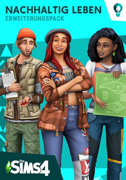 Die Sims™ 4 Nachhaltig Leben - Cover / Packshot