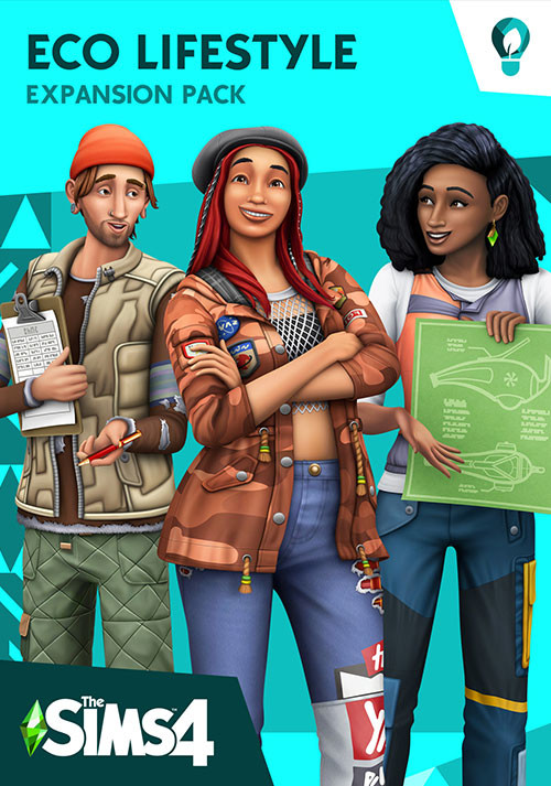 The Sims™ 4 Eco Lifestyle Expansion Pack - Cover / Packshot