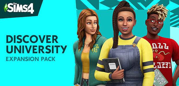 Die Sims™ 4 An die Uni - Cover / Packshot