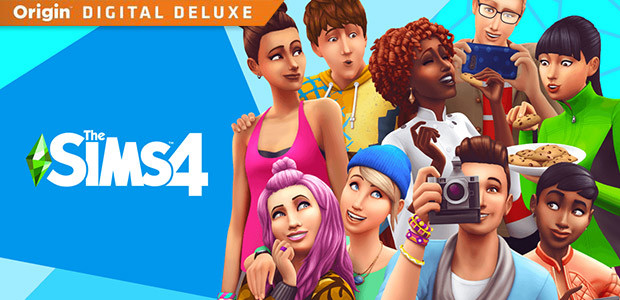 The Sims™ 4 Digital Deluxe - Cover / Packshot