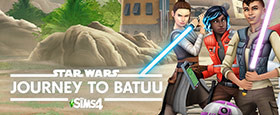 Die Sims 4 Star Wars™: Reise nach Batuu