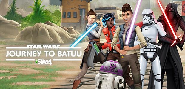 Die Sims 4 Star Wars™: Reise nach Batuu - Cover / Packshot