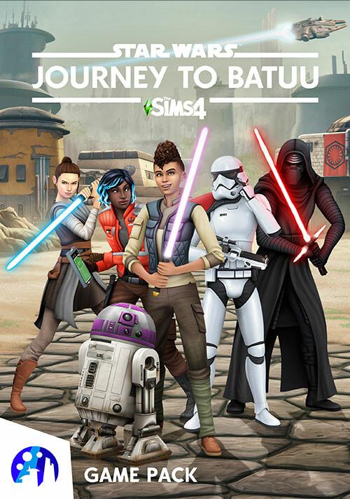 Les Sims 4 Star Wars™: Voyage sur Batuu - Cover / Packshot