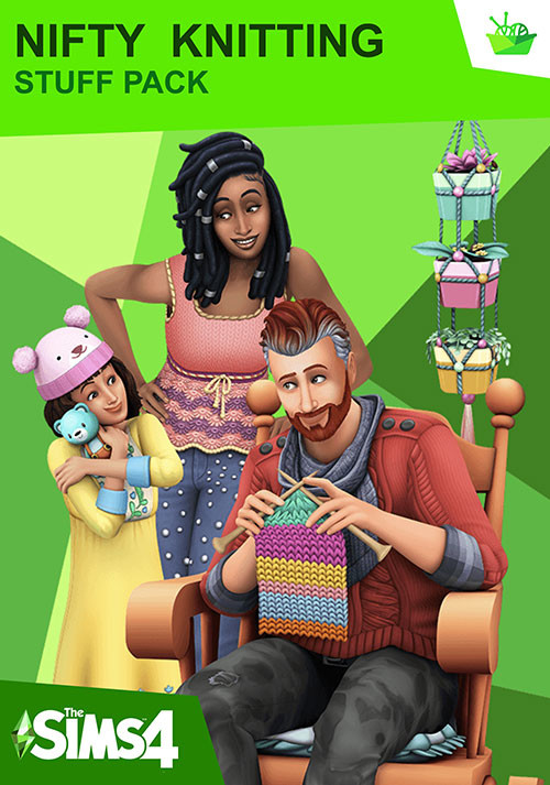 The Sims™ 4 Nifty Knitting Stuff Pack - Cover / Packshot