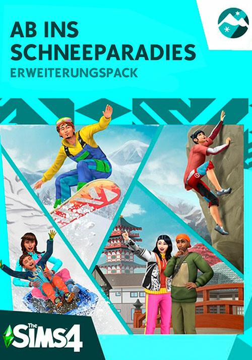 Die Sims™ 4 Ab ins Schneeparadies-Erweiterungspack - Cover / Packshot