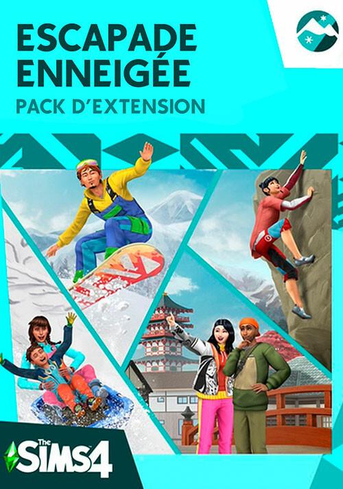 Pack d'extension Les Sims™ 4 Escapade enneigée - Cover / Packshot