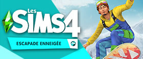 Pack d'extension Les Sims™ 4 Escapade enneigée
