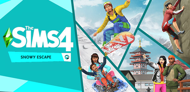 The Sims™ 4 Snowy Escape Expansion Pack - Cover / Packshot