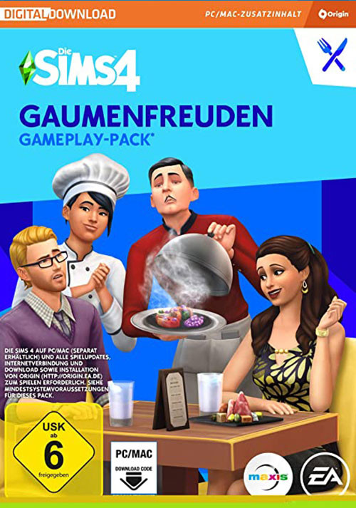 Die Sims™ 4 Gaumenfreuden - Cover / Packshot