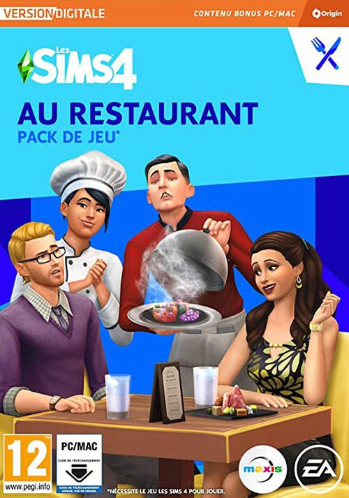 Les Sims™ 4 Au Restaurant - Cover / Packshot
