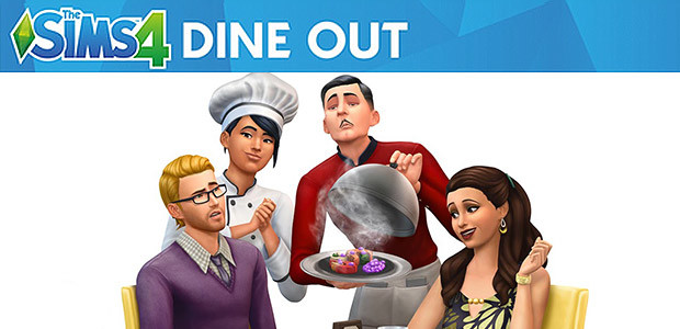 The Sims™ 4 Dine Out - Cover / Packshot