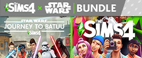 The Sims™ 4 + Star Wars™: Journey to Batuu Bundle