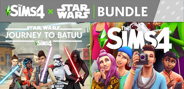 The Sims™ 4 + Star Wars™: Journey to Batuu Bundle - Cover / Packshot