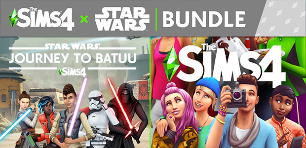 The Sims™ 4 + Star Wars™: Journey to Batuu Bundle - Cover / Packshot