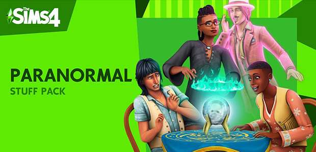 The Sims™ 4 Paranormal Stuff Pack - Cover / Packshot