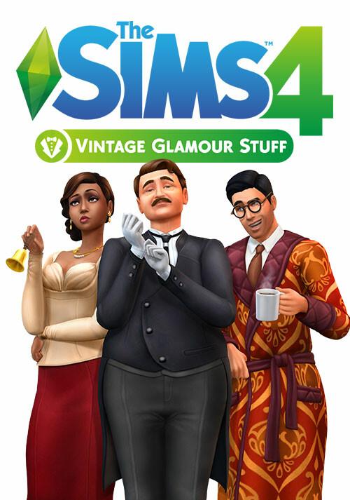 Les Sims™ 4 Kit d'Objets Accessoires Vintage - Cover / Packshot