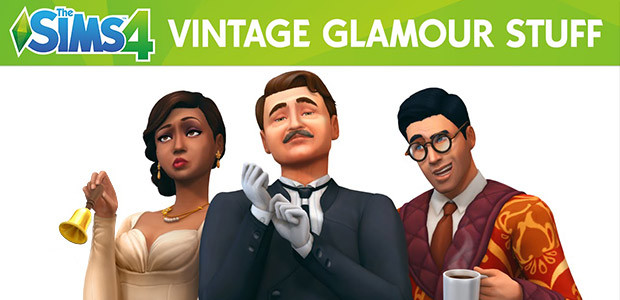 The Sims™ 4 Vintage Glamour Stuff - Cover / Packshot