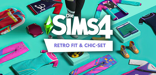 Die Sims™ 4 Retro Fit & Chic-Set - Cover / Packshot