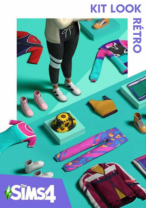 Les Sims™ 4 Kit Look rétro - Cover / Packshot