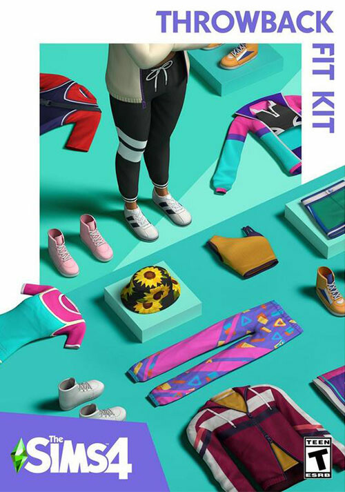 The Sims™ 4 Throwback Fit Kit - Cover / Packshot