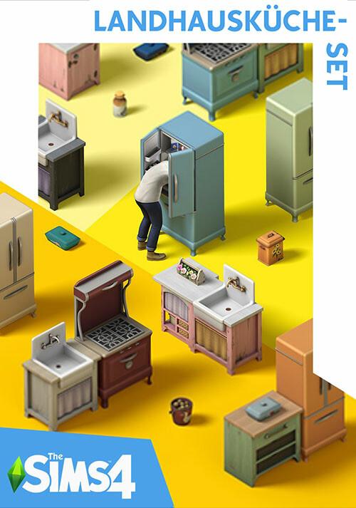 Die Sims™ 4 Landhausküche-Set - Cover / Packshot