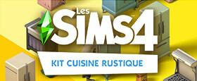 Les Sims™ 4 Kit Cuisine rustique