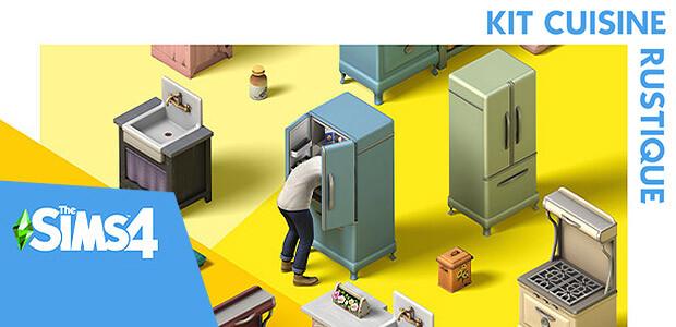 Les Sims™ 4 Kit Cuisine rustique - Cover / Packshot
