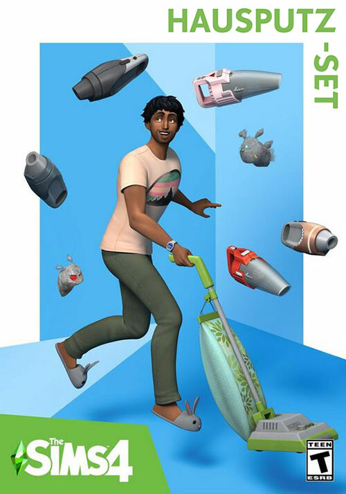 Die Sims™ 4 Hausputz-Set - Cover / Packshot