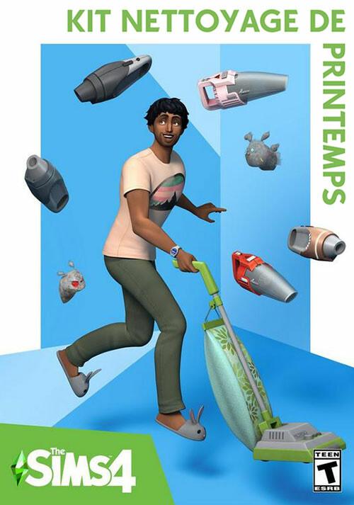 Les Sims™ 4 Kit Nettoyage de printemps - Cover / Packshot