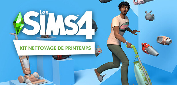Les Sims™ 4 Kit Nettoyage de printemps
