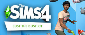 The Sims™ 4 Bust the Dust Kit