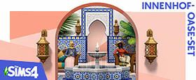 Die Sims™ 4 Innenhof-Oase-Set