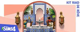 Les Sims™ 4 Kit Riad de rêve