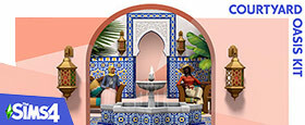 The Sims™ 4 Courtyard Oasis Kit