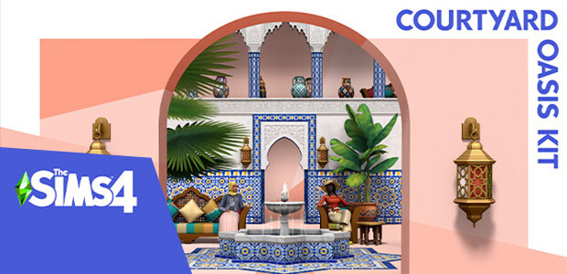 The Sims™ 4 Courtyard Oasis Kit - Cover / Packshot