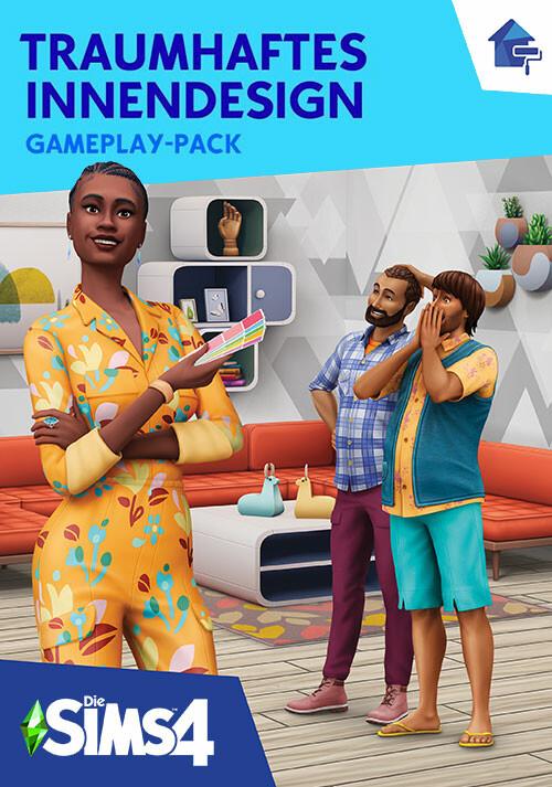 Die Sims™ 4 Traumhaftes Innendesign-Gameplay-Pack - Cover / Packshot