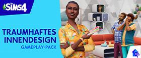 Die Sims™ 4 Traumhaftes Innendesign-Gameplay-Pack