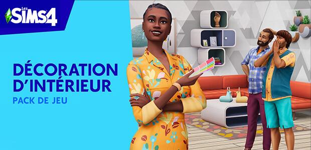 Pack de jeu Les Sims™ 4 Décoration d'intérieur - Cover / Packshot