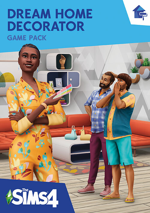 The Sims™ 4 Dream Home Decorator Game Pack - Cover / Packshot