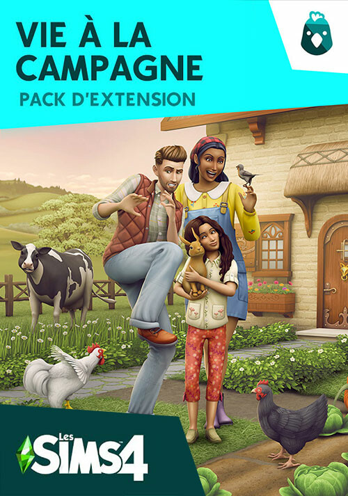 Les Sims™ 4 Vie à la campagne - Cover / Packshot