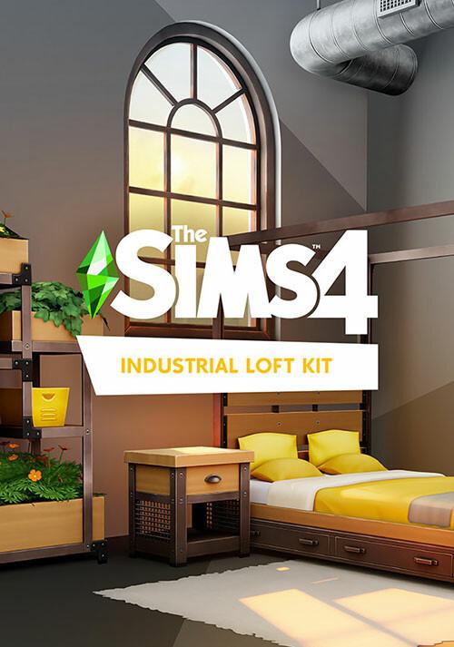 Die Sims™ 4 Industrie-Loft-Set - Cover / Packshot