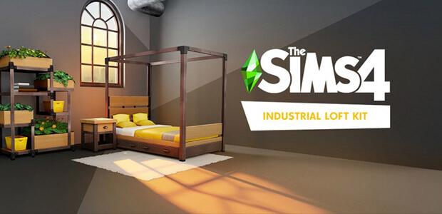 Die Sims™ 4 Industrie-Loft-Set